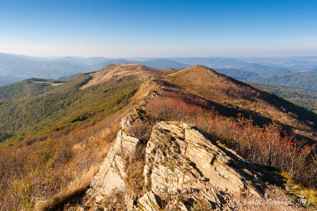 Tam gdzie czas zatrzymuje się w miejscu - Bukowe Berdo #Bieszczady #Bukowe #Berdo #jesień #góry