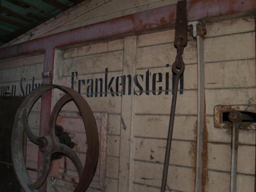 Stara młockarnia. Frankenstein ... to teraz Ząbkowice Śląskie :) #Sudety #Frankenstein