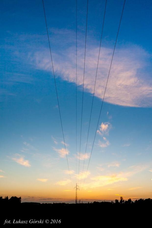 Elektryzujący zachód #zachód #słońca