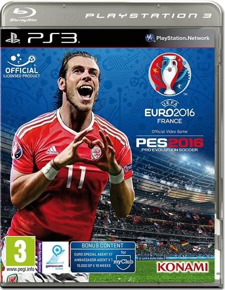 UEFA EURO 2016  PES 2016 (2016) PS3 - Duplex