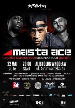 Masta Ace & Marco Polo we Wrocławiu