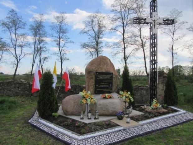 Cmentarz wojenny w Próchenkach z czasów I wojny światowej.