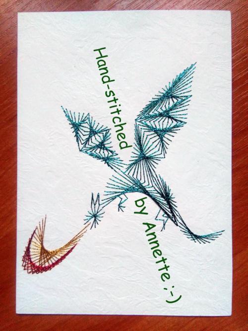 Obrazki z szycia wzięte - na podstawie wzoru ze stitchingcards.com