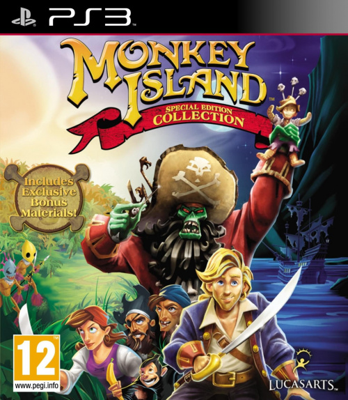 Monkey Island Special Edition Collection (2011) PS3 - iCON